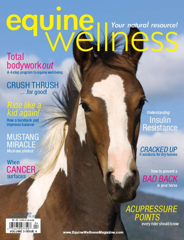 Equine Wellness Magazine Jul/Aug 2008
