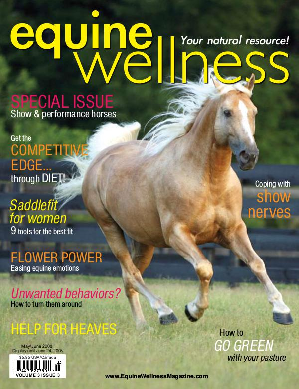 Equine Wellness Magazine May/Jun 2008