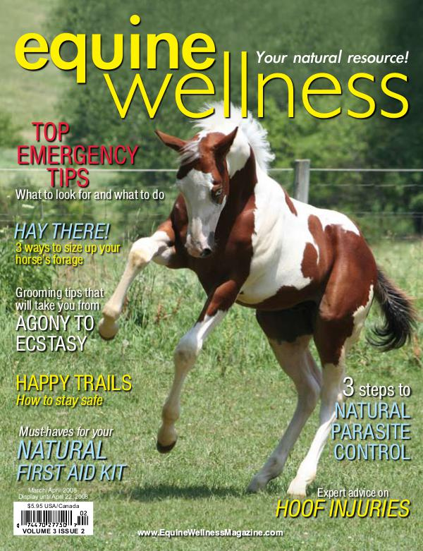 Equine Wellness Magazine Mar/Apr 2008