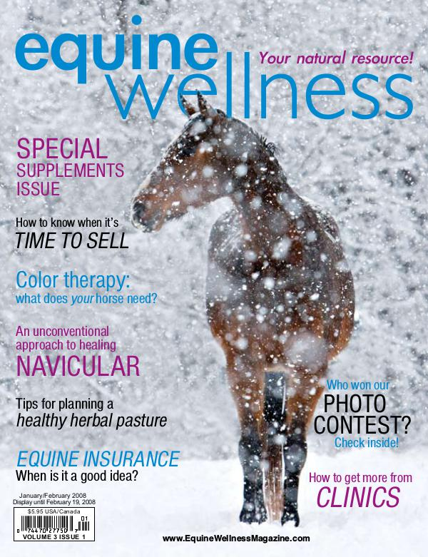 Equine Wellness Magazine Jan/Feb 2008