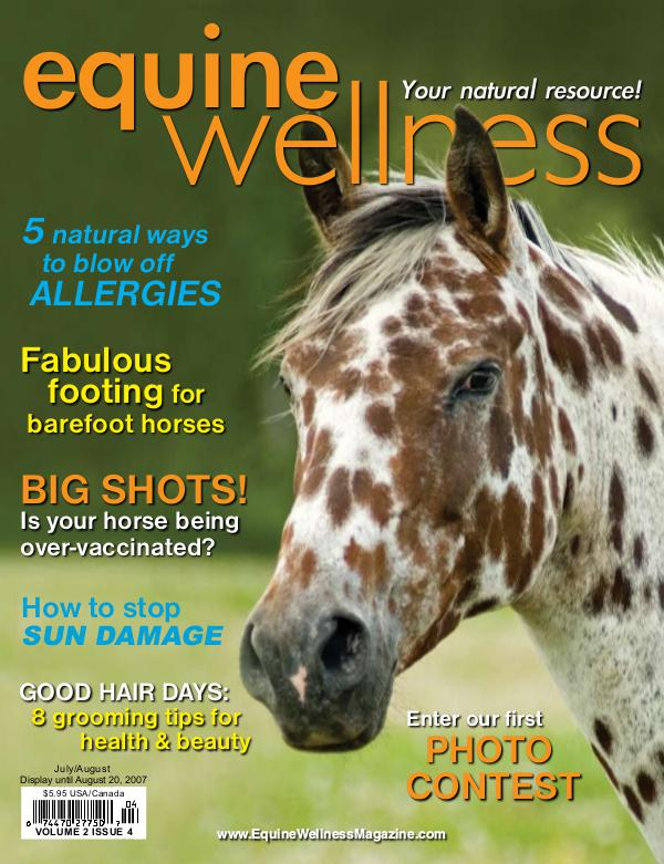 Equine Wellness Magazine Jul/Aug 2007