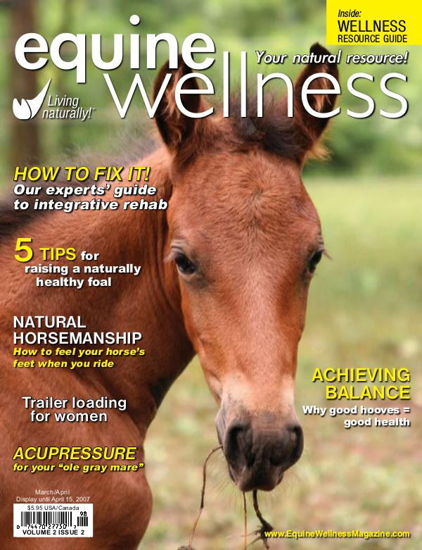 Equine Wellness Magazine Mar/Apr 2007