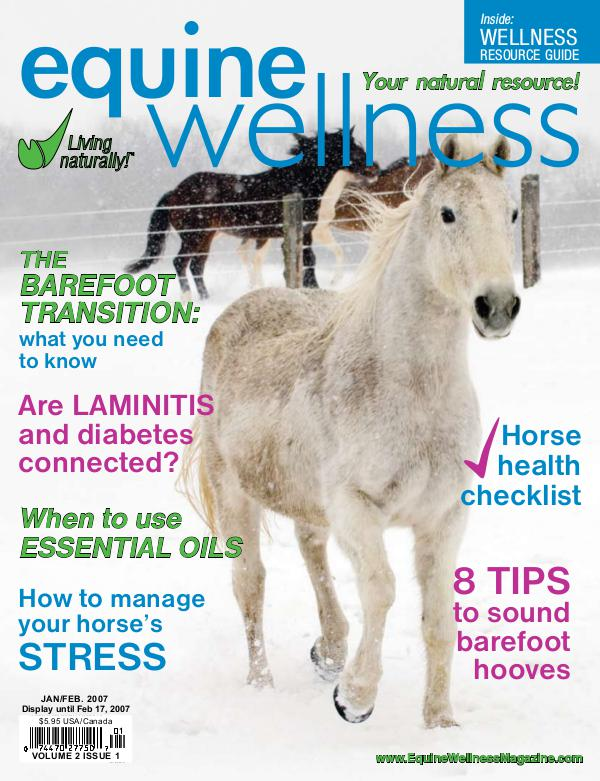 Equine Wellness Magazine Jan/Feb 2007