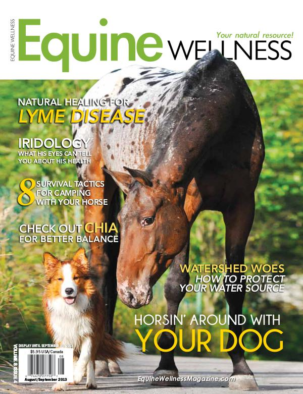 Equine Wellness Magazine Aug/Sep 2013