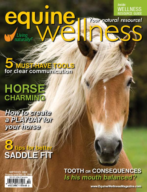 Equine Wellness Magazine Sep/Oct 2006