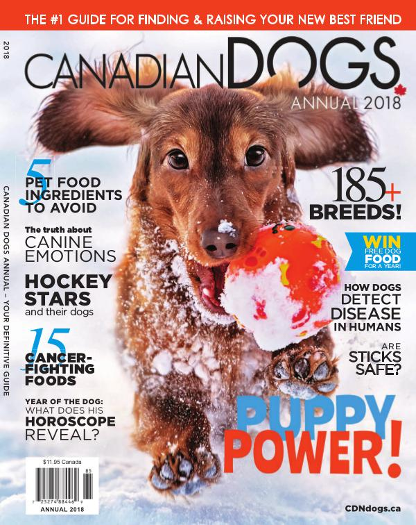 Canadian Dogs Annual 2018