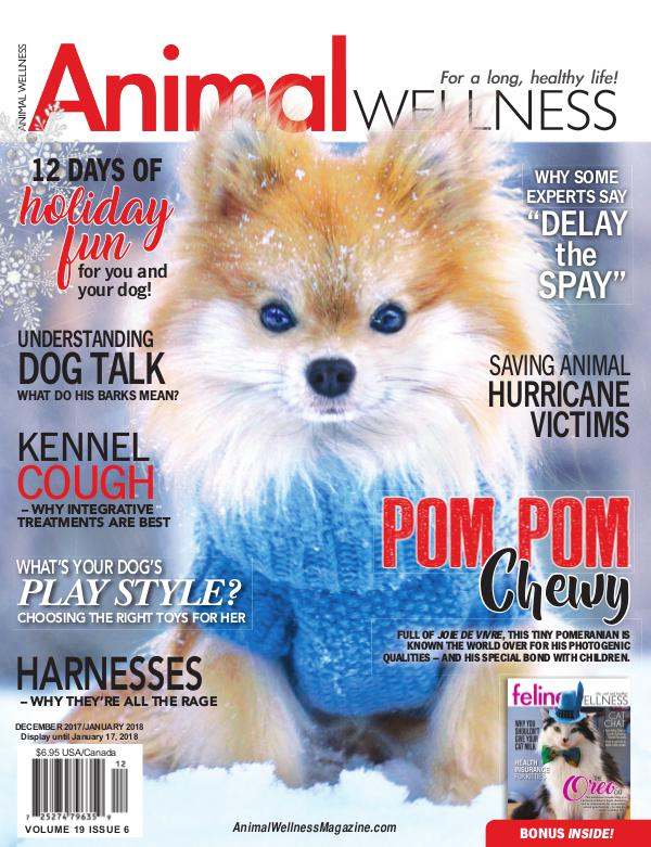 Animal Wellness Magazine Dec/Jan 2017
