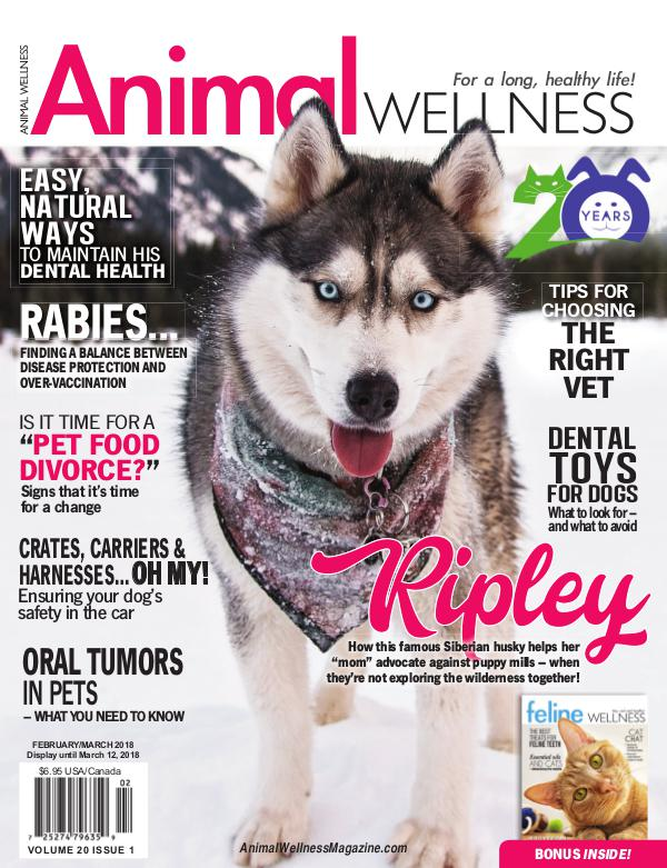 Animal Wellness Magazine Feb/Mar 2018