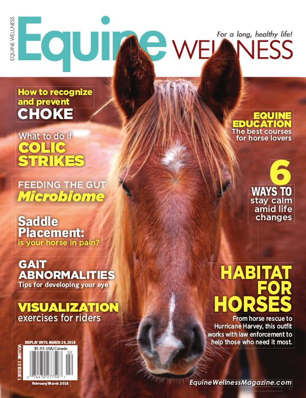 Equine Wellness Magazine Feb/Mar 2018