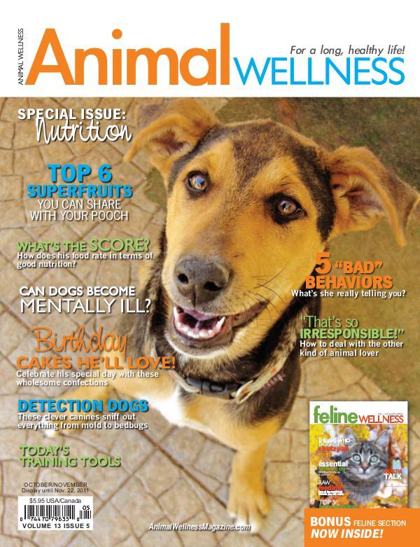 Animal Wellness Back Issues Oct/Nov 2011