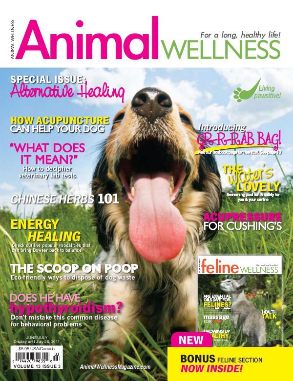 Animal Wellness Back Issues Jun/July 2011