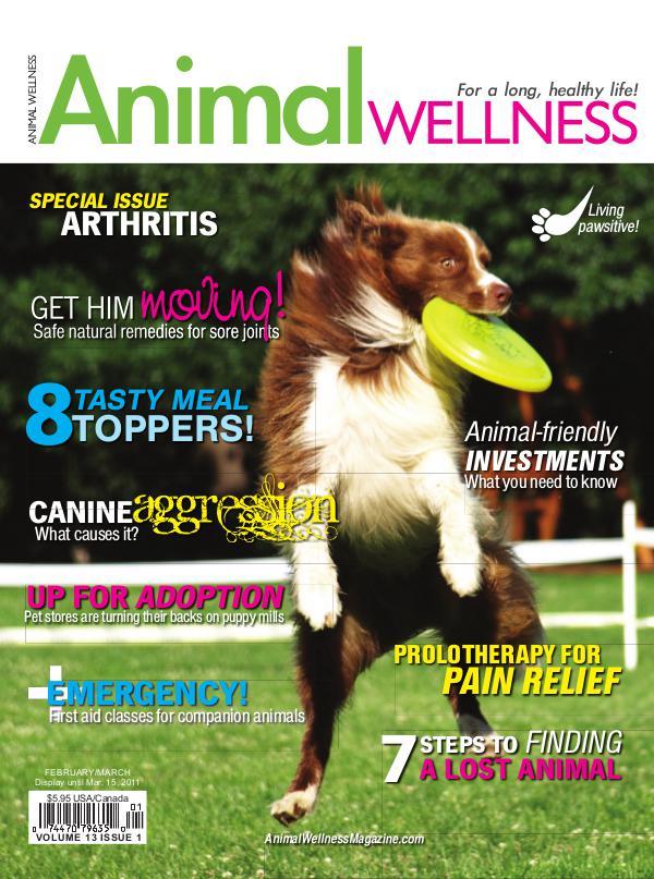 Animal Wellness Back Issues Feb/Mar 2011