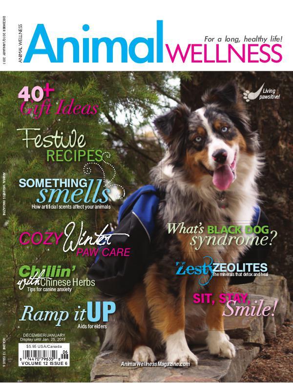 Animal Wellness Back Issues Dec/Jan 2010