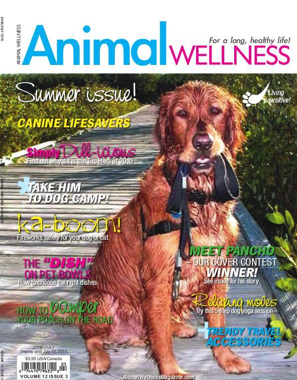 Animal Wellness Back Issues Jun/July 2010