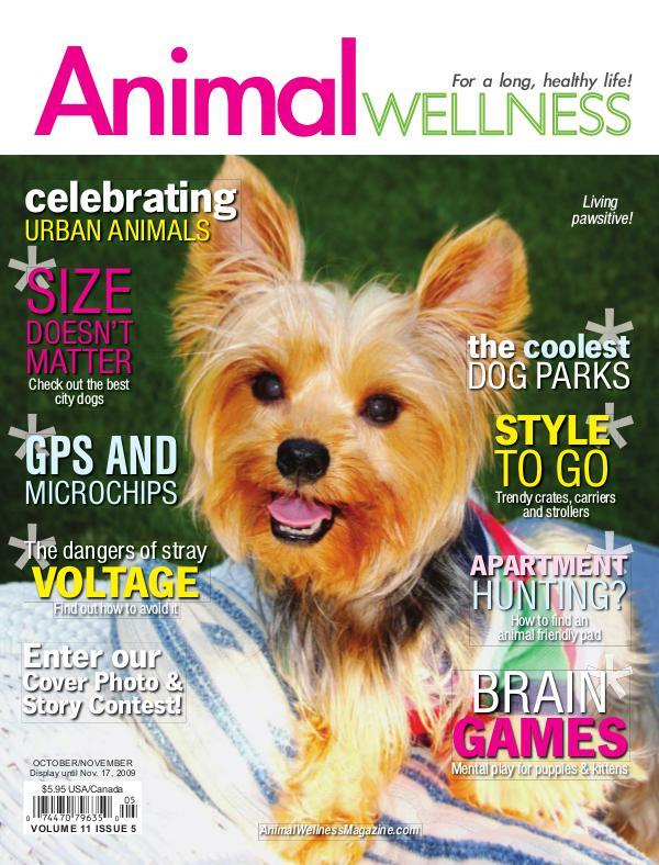 Animal Wellness Back Issues Oct/Nov 2009