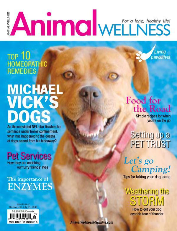 Animal Wellness Back Issues Jun/July 2009