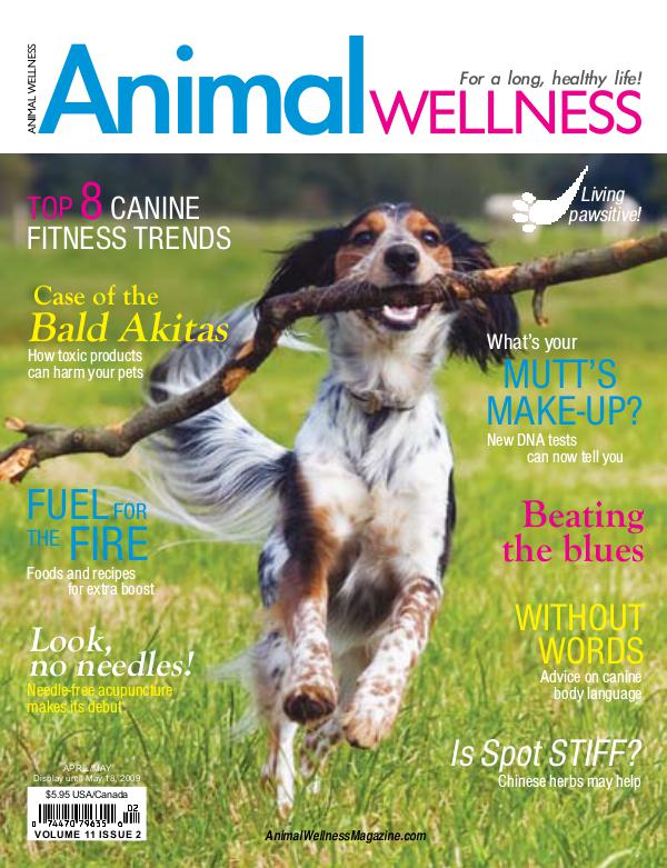 Animal Wellness Back Issues Apr/May 2009