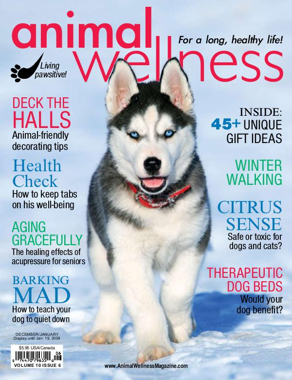 Animal Wellness Back Issues Dec/Jan 2008