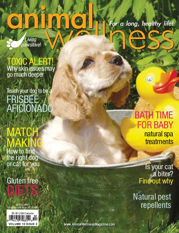 Animal Wellness Back Issues Apr/May 2008