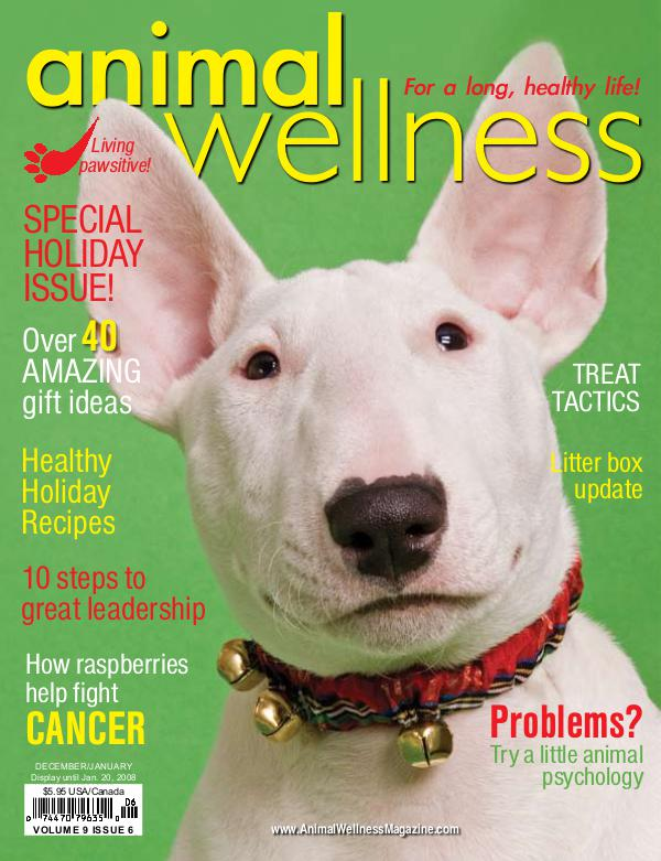 Animal Wellness Back Issues Dec/Jan 2007