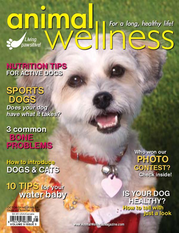 Animal Wellness Back Issues Oct/Nov 2007