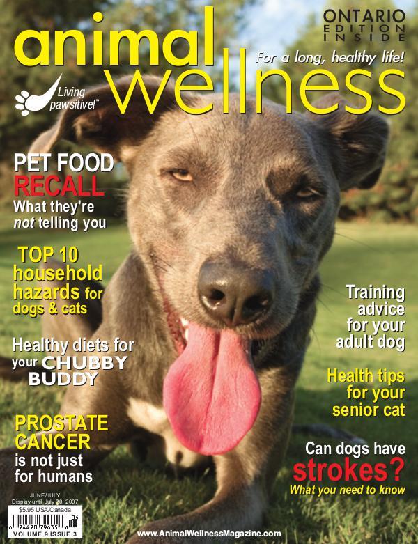 Animal Wellness Back Issues Jun/July 2007