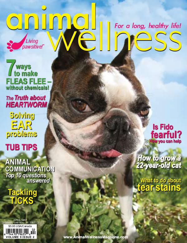Animal Wellness Back Issues Apr/May 2007