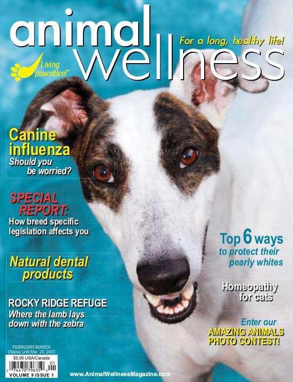Animal Wellness Back Issues Feb/Mar 2007