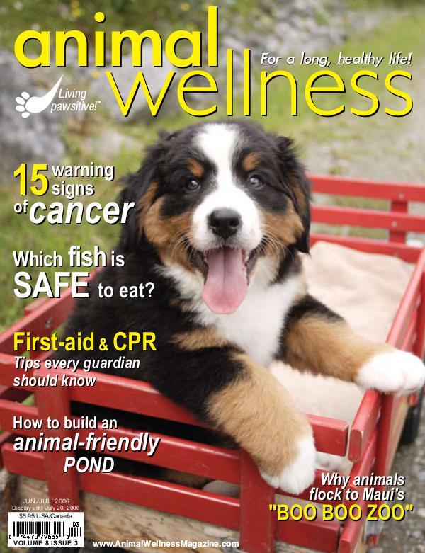Animal Wellness Back Issues Jun/Jul 2006