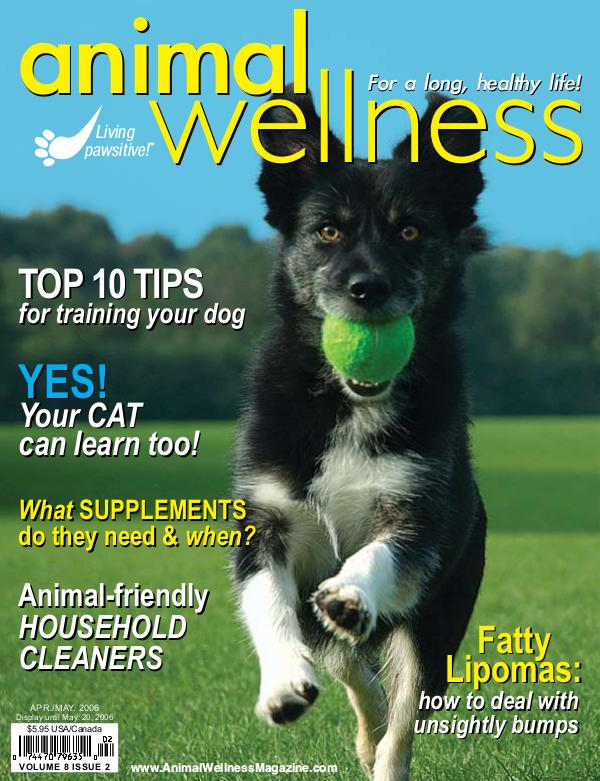 Animal Wellness Back Issues Apr/May 2006