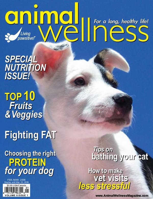Animal Wellness Back Issues Feb/Mar 2006