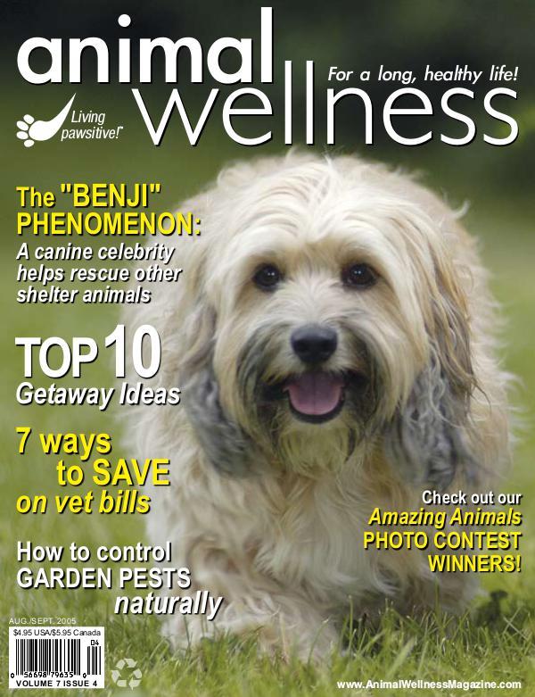 Animal Wellness Back Issues Aug/Sep 2005