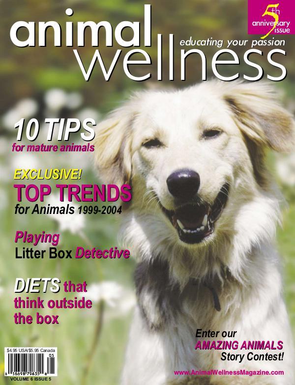 Animal Wellness Back Issues Oct/Nov 2004