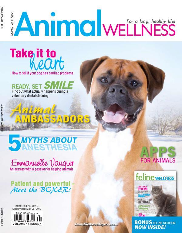 Animal Wellness Back Issues Feb/Mar 2012