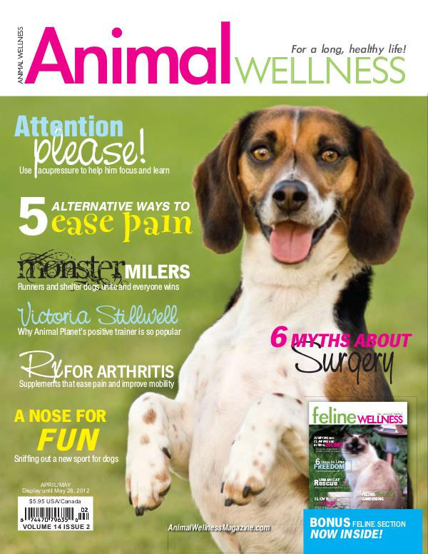 Animal Wellness Back Issues Apr/May 2012