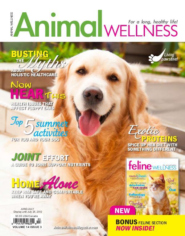 Animal Wellness Back Issues Jun/July 2012