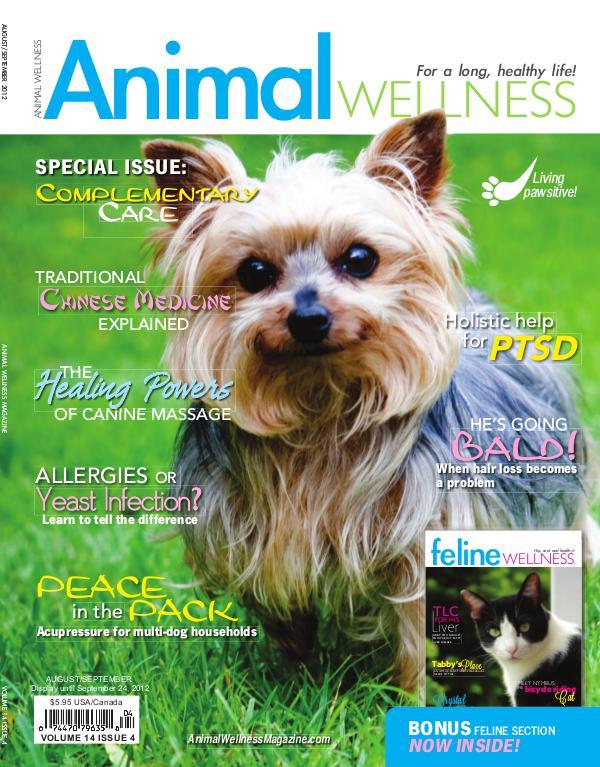 Animal Wellness Back Issues Aug/Sept 2012