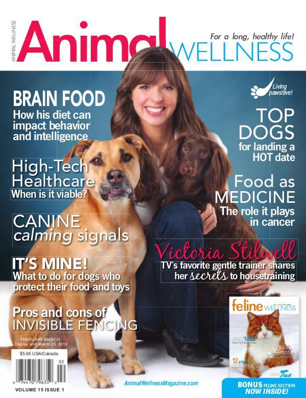 Animal Wellness Back Issues Feb/Mar 2013