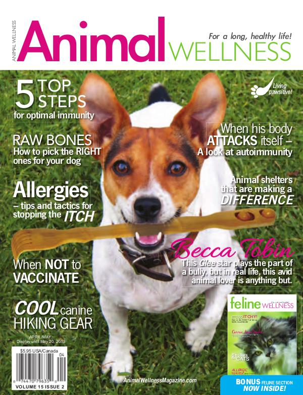Animal Wellness Back Issues Apr/May 2013