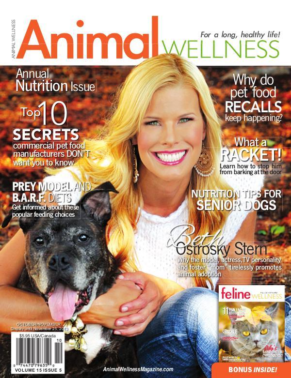 Animal Wellness Back Issues Oct/Nov 2013