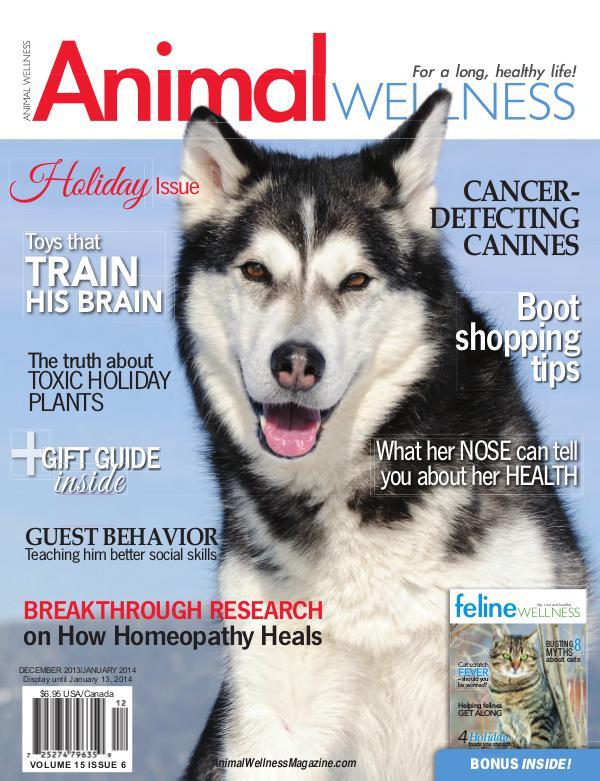 Animal Wellness Back Issues Dec/Jan 2013