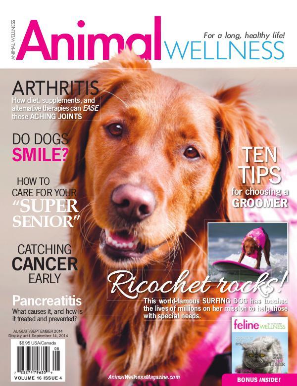 Animal Wellness Back Issues Aug/Sept 2014