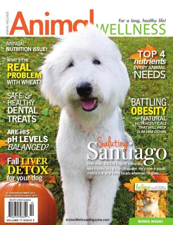 Animal Wellness Back Issues Oct/Nov 2015