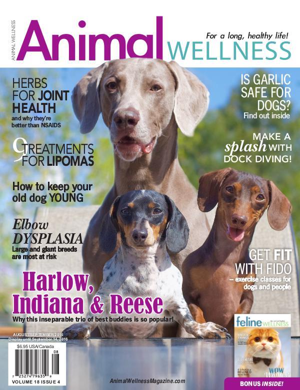 Animal Wellness Back Issues Aug/Sept 2016