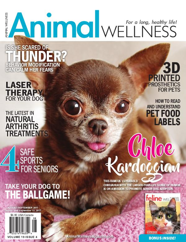 Animal Wellness Back Issues Aug/Sept 2017