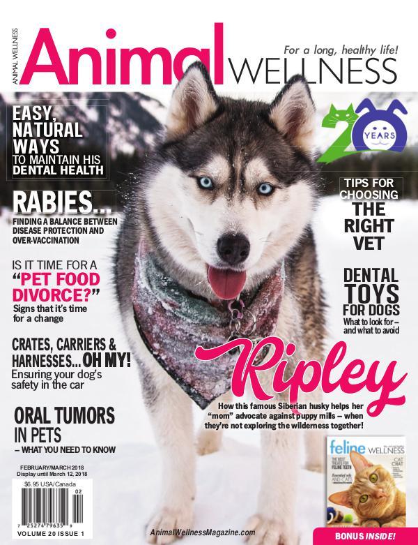 Animal Wellness Back Issues Feb/Mar 2018