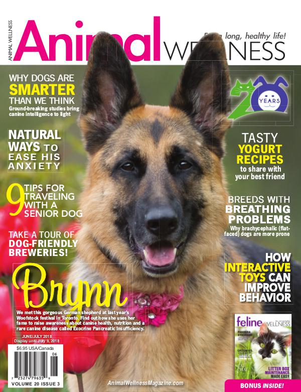 Animal Wellness Back Issues June/July 2018