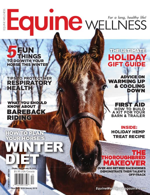 Equine Wellness Magazine Dec/Jan 2018
