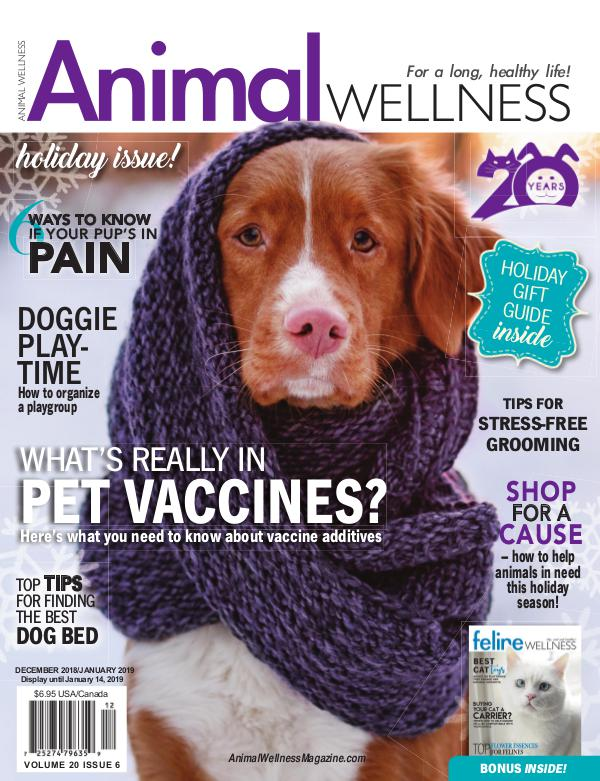Animal Wellness Back Issues Dec/Jan 2018