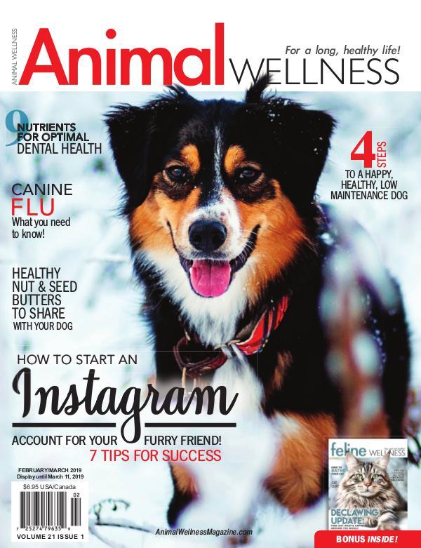 Animal Wellness Back Issues Feb/Mar 2019